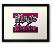 Attractions of Magic Kingdom Framed Print