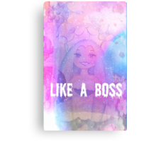 Queen Frostine Candy Land Like A Boss Canvas Print