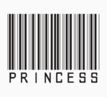 Princess Bar Code Tee by NOLAlphabet