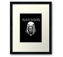 Iron Vader Framed Print