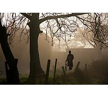 The Haunted silhouette Photographic Print