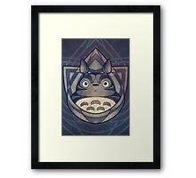 My Neighbour the Forest Spirit of Stone Framed Print