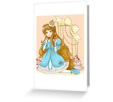 The Queen needs more cake Greeting Card