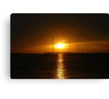 Goodnight Sunshine ! Canvas Print