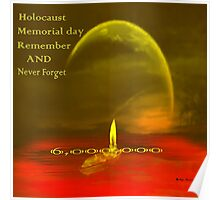 Holocaust memories -27.1-27/1- International Holocaust Remembrance Day Poster