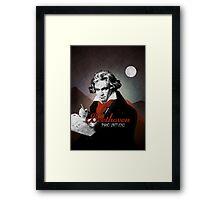 Beethoven piano virtuoso Framed Print