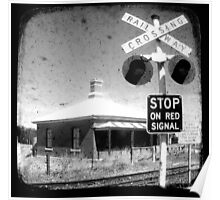 Stop on Red Poster