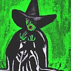 THE MELTING WICKED WITCH  by JoAnnHayden