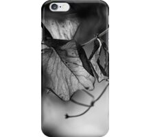 the things left unsaid iPhone Case/Skin