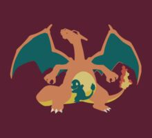 Charizard Minimalist by wonderwaffle