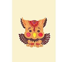 The Baby Griffin  Photographic Print