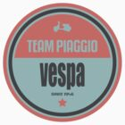 VESPA TEAM RETRO 1 by madeofthoughts