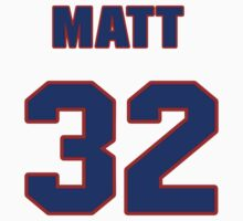 National baseball player Matt Albers jersey 32 T-Shirt