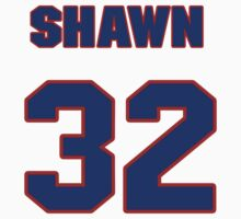 National baseball player Shawn Boskie jersey 32 T-Shirt