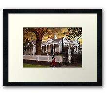 Corio Villa Framed Print
