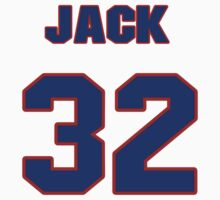 National baseball player Jack Brewer jersey 32 T-Shirt