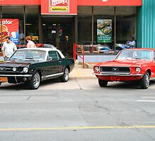 Vintage Ford Mustangs by HALIFAXPHOTO