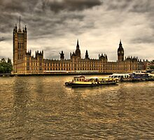 Westminster Palace by Roddy Atkinson