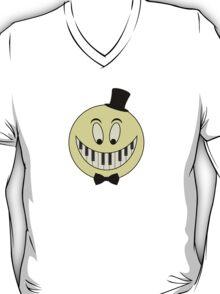 Vintage Keyboard Smile Cartoon T-Shirt