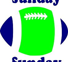 Super Bowl Sunday Funday - Seattle by PayneMountain