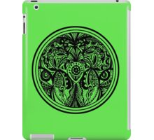 Circle 4 - Watchers - Aussie Tangle (See description notes for background colour options) iPad Case/Skin