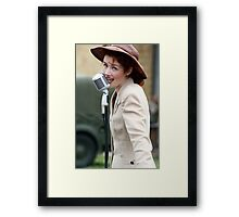 1940's Baby Doll Eyes Framed Print