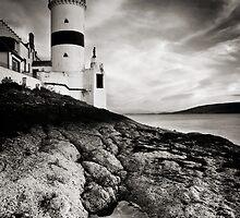 Cloch Lighthouse by David Queenan