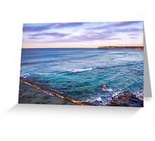 Bar Beach NSW Australia Greeting Card