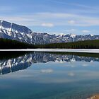 Mount Rundle, Rocky Mountains by Tim Yuan