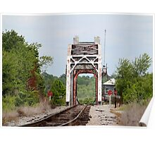 Old Railroad Bridge Poster