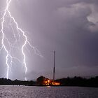 Ballina Ferry Lightning by Michael Bath