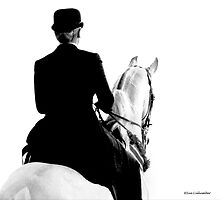 English Rider by Sue  Cullumber