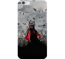 Red vs The Wolf iPhone Case/Skin