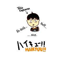 Haikyuu!! Tobio Kageyama Chibi by bowitchingC