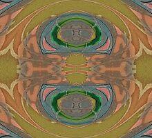 Art Nouveau - Pattern III by Martilena