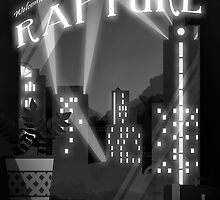 Bioshock -  Welcome To Rapture Greyscale by ATate