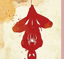 Spider Man Red by rikovski