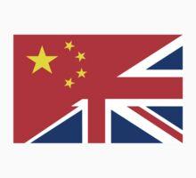 uk china flag Kids Clothes