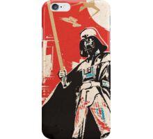 Darth Vadar - Red iPhone Case/Skin