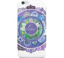 Positive Intentions Lotus Mandala iPhone Case/Skin