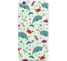 Met the narwhals iPhone Case/Skin