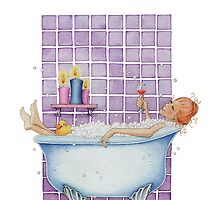 Bathtub Joy by mrana