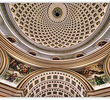 Detail From Mosta Church Ceiling by PhotoArtBy Astrid