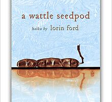 a wattle seedpod by Ron C. Moss