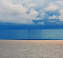 Double Waterspout Forming by LAmBChOp