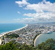 View from Mt Maunganui 2 by AKunde