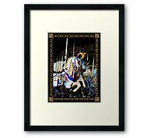 Carousel of Colour Framed Print