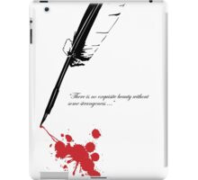 Edgar Allan Poe - Beauty and Strangeness iPad Case/Skin