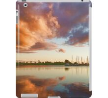 Reflecting on Yachts and Clouds - Lake Ontario Impressions iPad Case/Skin