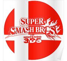 Super Smash Bros. For 3DS Poster
